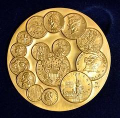 U.S. Mint Bicentennial medal reverse