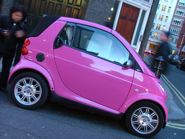 pink smart hate pink cars a ddiction flickr. Black Bedroom Furniture Sets. Home Design Ideas
