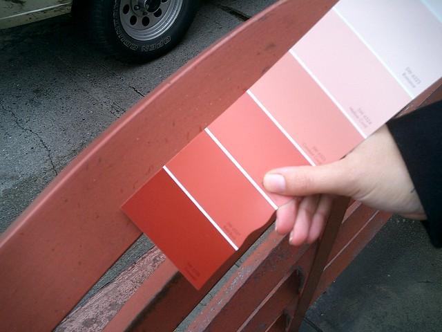 International Orange Paint Color