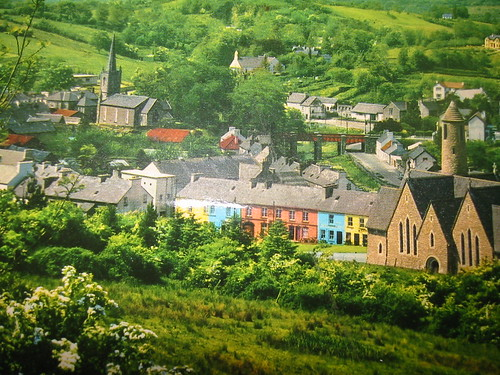 Old Donegal Town Postcard | by bettlebrox