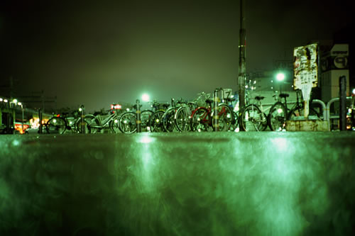 parked bikes | by lomokev