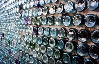 bottle house, detail | by dotpolka