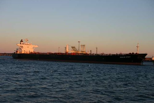 Oil tanker in South Portland | by nightthree