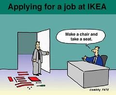 Ikea job interview | by Esthr