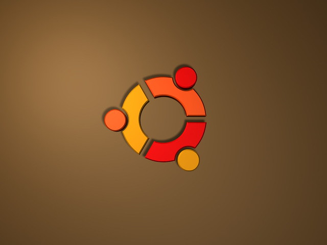 Ubuntu Wallpaper Plain | A 3D render of the Linux ...