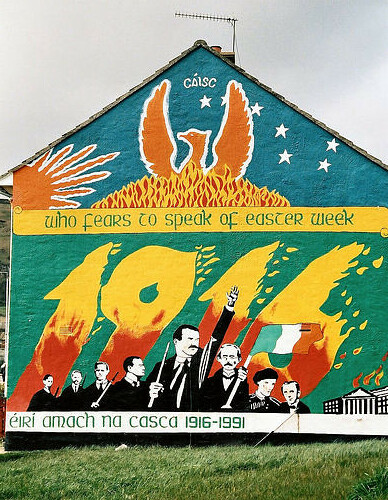 Easter rising mural whiterock rd all enquiries photo for Easter rising mural