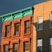 Green cornice, Park Slope, Brooklyn