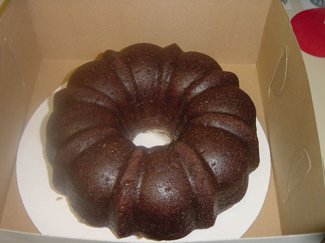 Chocolate Eggnog Rum Cake | This has definitely become a hol ...
