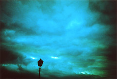 Sky and a Streetlamp | by ale2000