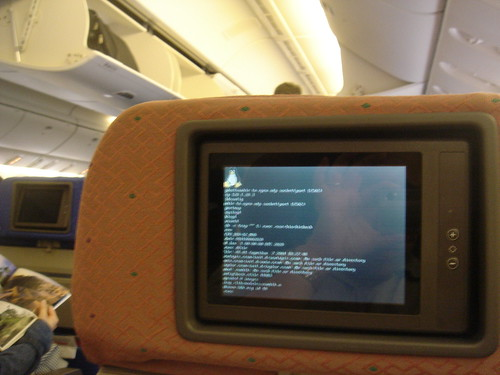 linux on a Boeing 777 | by fuzheado