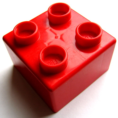 red lego | by niznoz