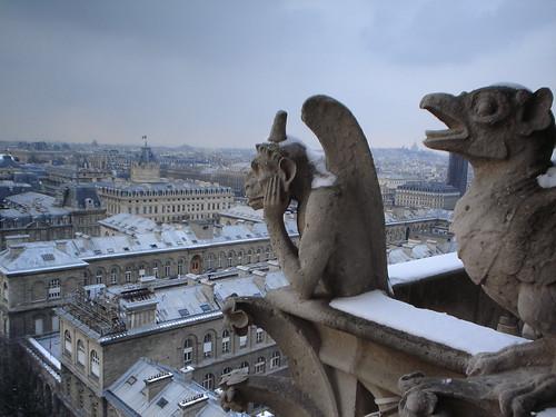 Cathedral of Notre Dame Gargoyles Gargoyles of Notre Dame
