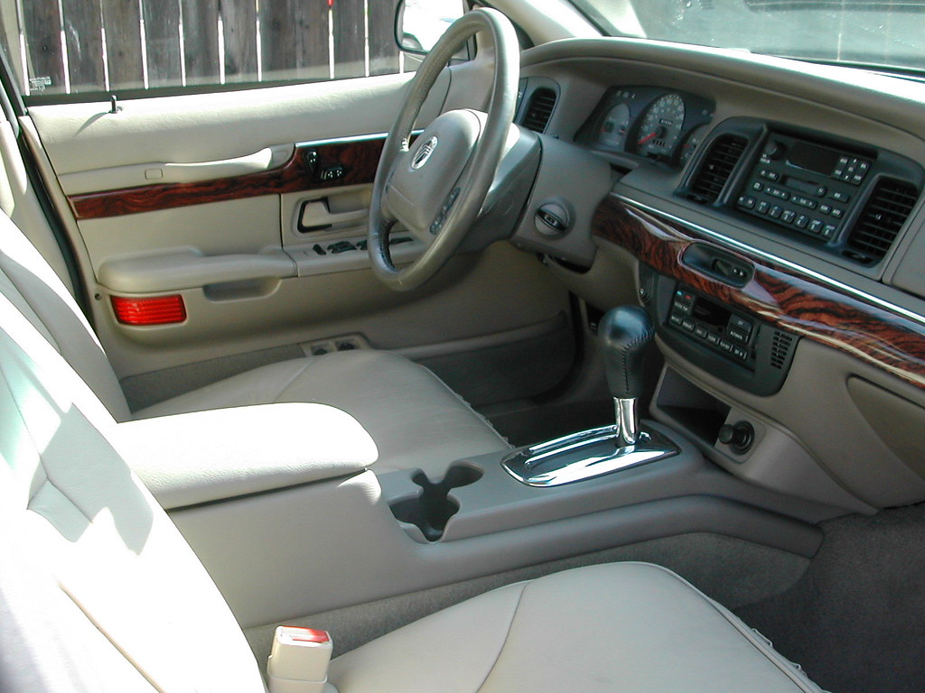 My 2002 Mercury Grand Marquis S55 Interior | This is the ...