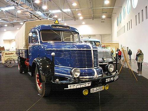 Krupp Titan Truck
