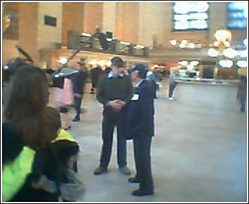 Mo Rocca doing an interview at Grand Central | by jakemonO