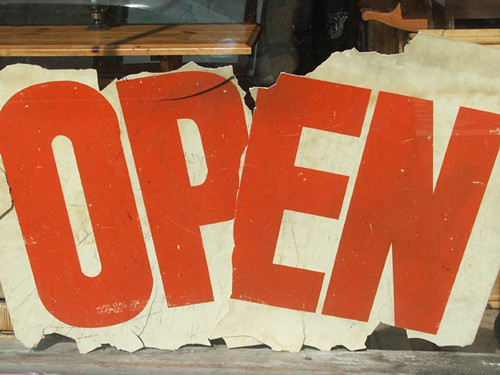 (still) open | by Joseph Robertson