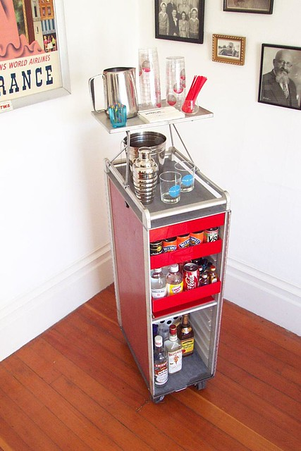 Sas Galley Cart Ready For Service This Is A 1970s