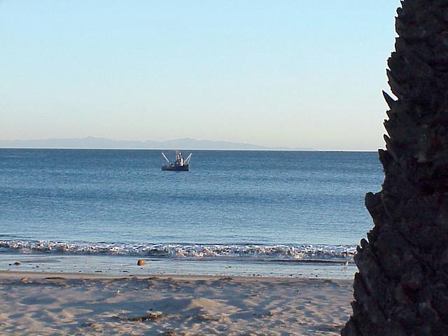 Troller inshore near santa barbara ocean fishing troller for Santa barbara fishing report