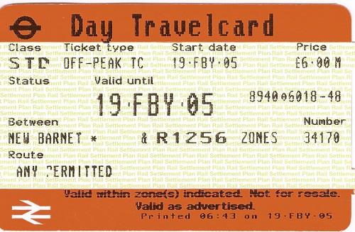 Day Travel Card London