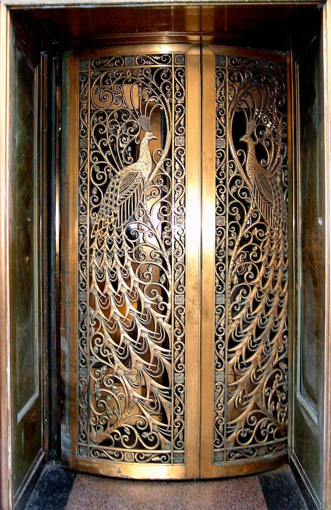 Peacock Door Door To The Former C D Peacock Jewelry