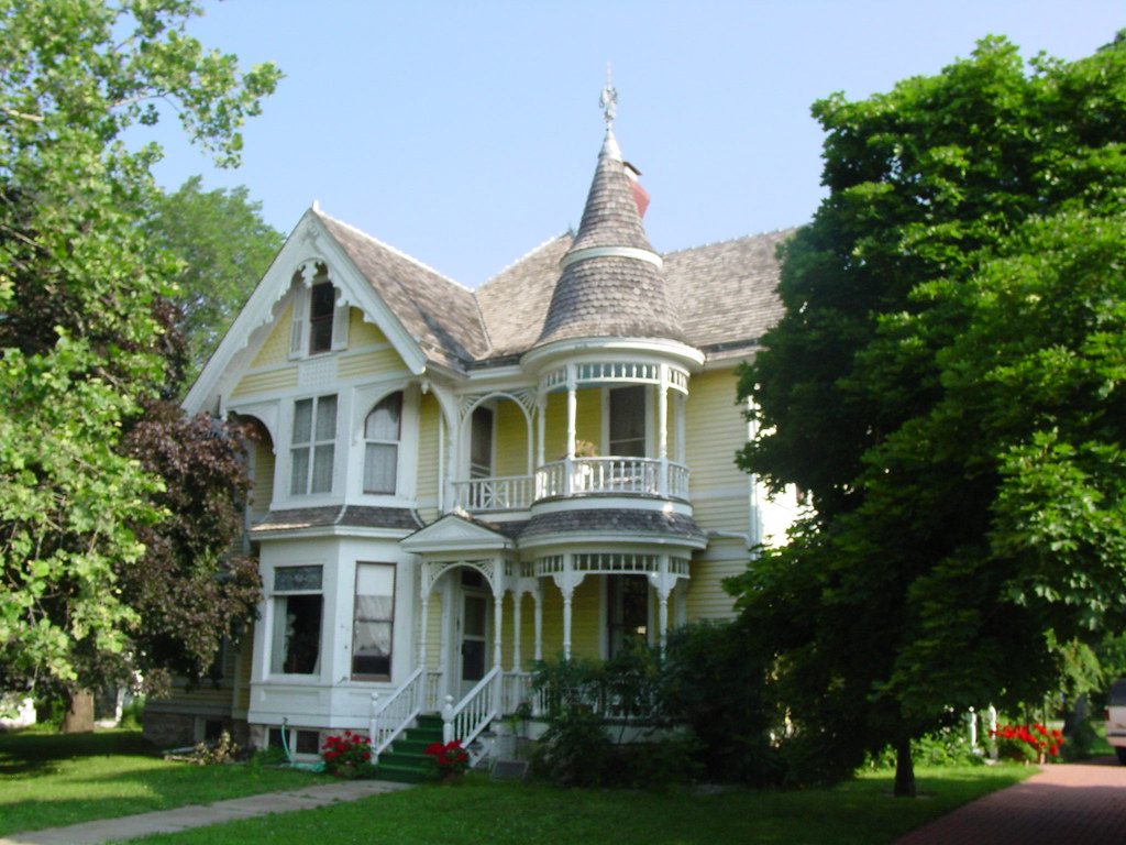 Waterville Kansas Historic Victorian House