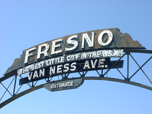Fresno Arch on Van Ness Avenue | by Great Valley Center