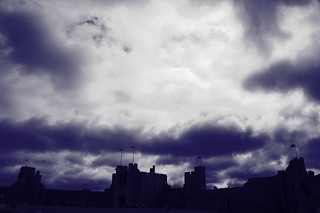 Darkness on the rise over Pembroke Castle | by Urban Disturbance