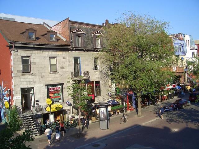 St denis st rue st denis de la terrasse des trois brasseur yogadhipa flickr - Terrasse jardin paris saint denis ...