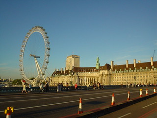 London Eye and County Hall From Westminster Bridge | by srboisvert