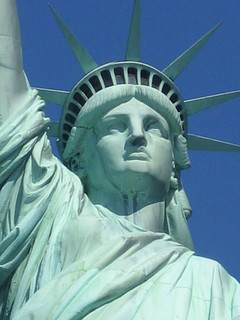 the statue of liberty (close to) | by featherboa