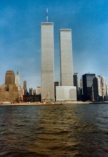 WTC pre WFC 1984 from boat Hudson NYC | by bfraz