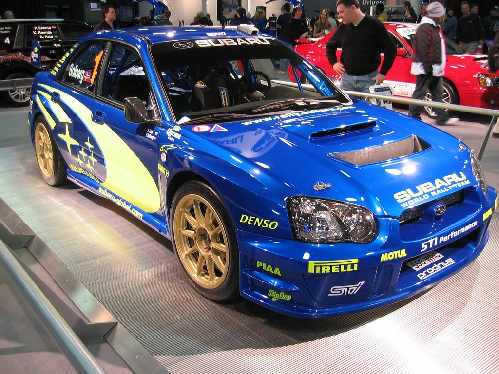 Subaru Wrc Naias 2005 Detroit Auto Wrc Car Was