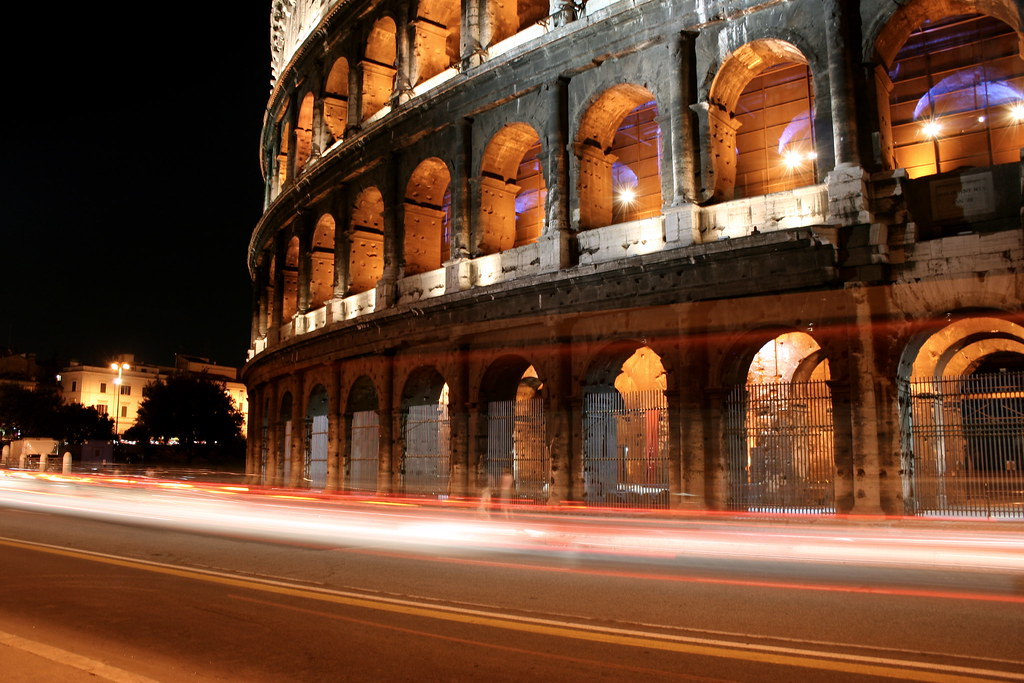 time stands still the colosseum