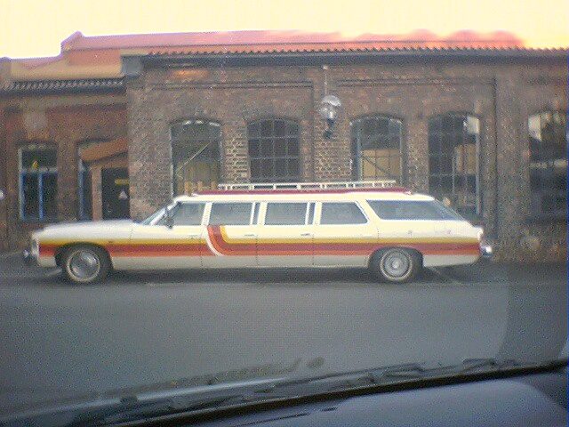 70 S Limousine I Was Driving Home From Work One Day And