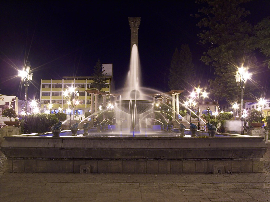Fuente en la Plaza de Armas - Tepic, Nayarit, MEXICO | Flickr