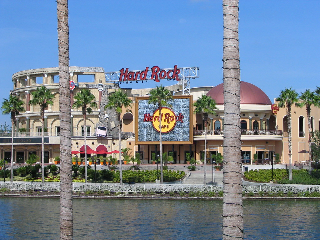 Hard Rock Cafe Orlando Map