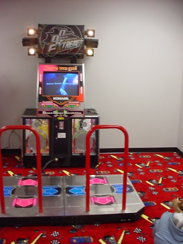 Ddr Arcade Machine In Silent Thunder Arcade West