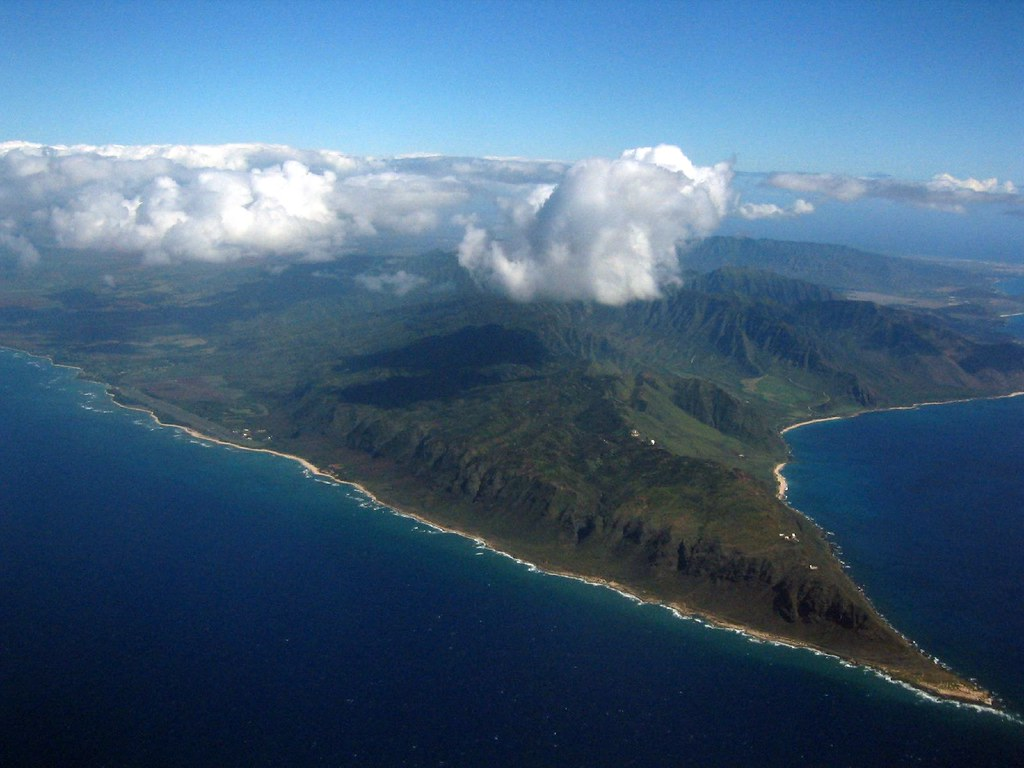 Kaena Point | The western-most point of Oahu as seen from ...