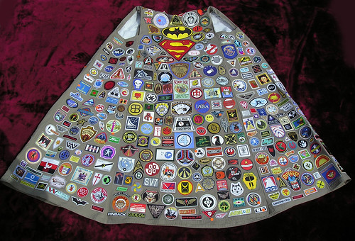 "ROB JAN'S ""FANTASTIQUE"" BADGE CLOAK #1 COSTUME PICTURE #2 