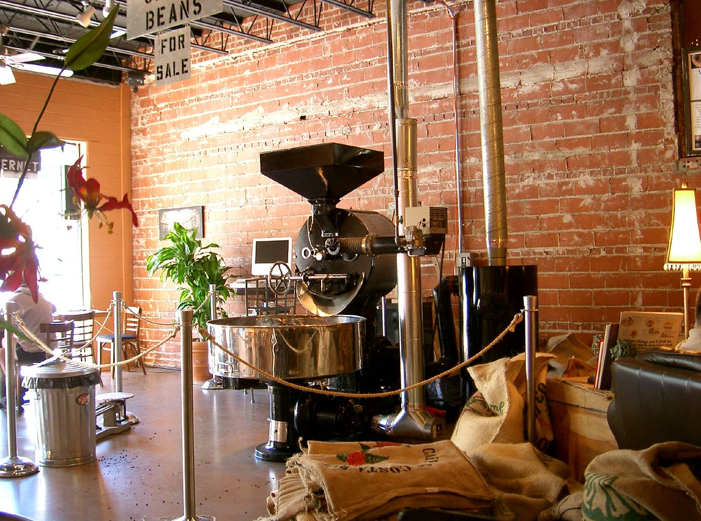 Vittoria Coffee Roaster At Doubleshot Coffee In Tulsa Ok