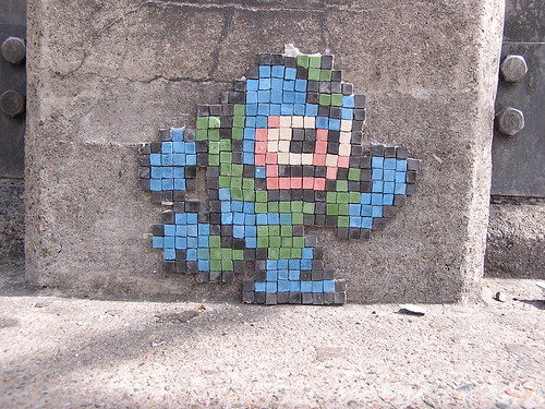 Mega Man on Mass Ave | by bellyrobber