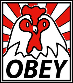 Obey_4x4_r_sticker | by robotbugs666