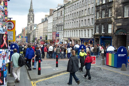 Fringe Festival - Royal Mile | by raymccrae