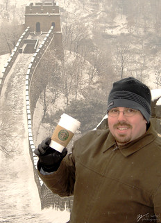 Starbucks on the Great Wall | by Steve Webel