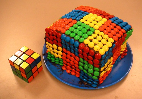 Rubic's Cube Birthday Cake | by ~ BRIAN ~