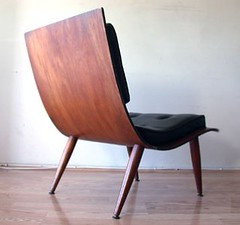Bent Plywood Lounge Chair (back) | by Stewf