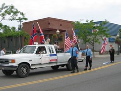 Aryan Nations March 2004 , Coeur d' Alene, ID | by holotone