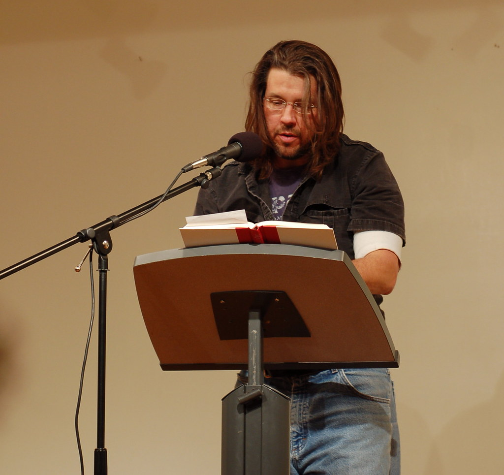 a rhetorical analysis of david foster wallace s David foster wallace, traditionalist considering 'both flesh and not: essays' david foster wallace's essays might be stylistically experimental, but it betrays.