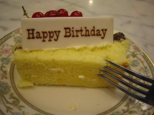 Birthday Cake Secret Agent