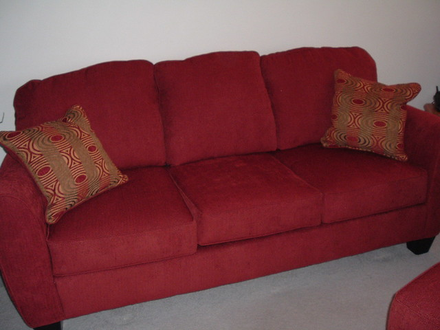 The New Sofa One Of Them That Is We Actually Broke